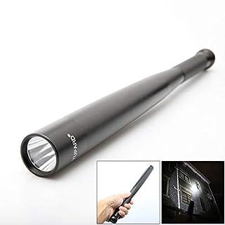 P12cheng LED-Taschenlampe, tragbar, 3 W, Aluminium, hohe Helligkeit, Aluminiumlegierung, Schwarz, 3W