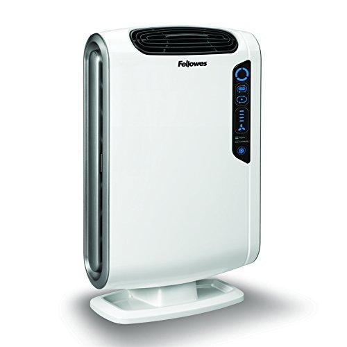 Fellowes AeraMax DX-55 - Purificador de aire, color blanco y negro