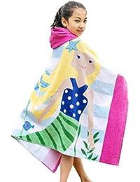 GALLUX Badetuch mit Kapuze Kapuzenbadetuch 100/% Baumwolle Babybadetuch Handtuch