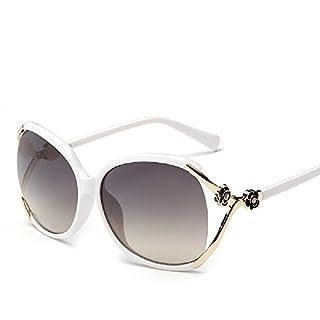 anfei-xm Damen Sonnenbrille, weiß, 81801