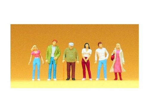 Preiser 1/100 Scale People Standing