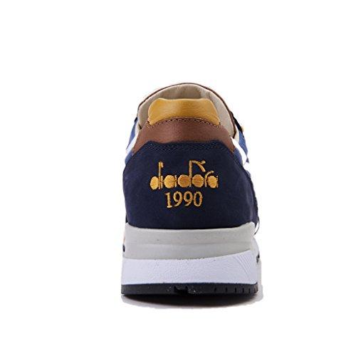 Diadora Heritage Baskets N9000 H ita Pour Homme Blu/giallo