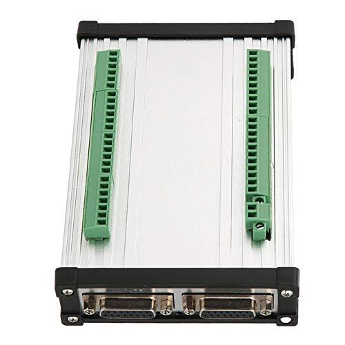 Keenso NVEC CNC-Controller Bewegungssteuerungskarte 3/4/5/6 Axis NVEC400 Ethernet MACH3-Schnittstellenkarten-Controller Mach3 Motion-Karte 1 MHz-Ausgang(5Achse) Axis Motion Controller