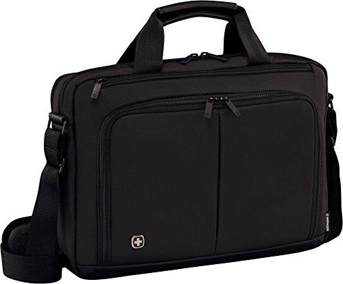 """Wenger 601064 Source - Maletín con compartimento acolchado para portátil (14"""") color negro"""