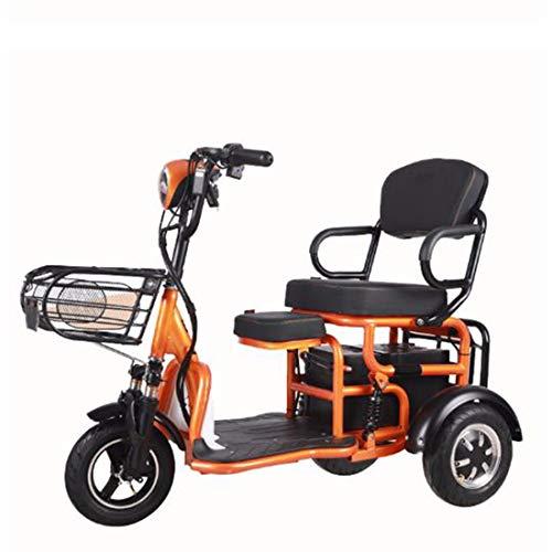 Quino Triciclo eléctrico para adultos Patinete de movilidad, silla de ruedas eléctrica...