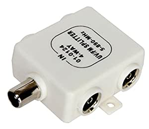 Mercury BX40 4-Way Signal Splitter