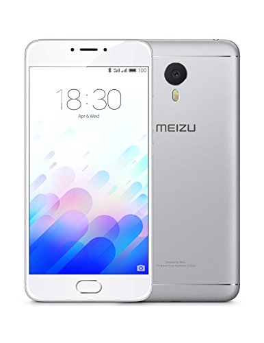 Meizu M3 Note 16GB 4G argento, bianco-Smartphone Dual SIM, Android, GSM/WCDMA, LTE, Micro-USB
