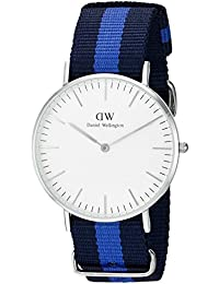 Daniel Wellington Damen-Armbanduhr Classic Swansea Lady Analog Quarz Nylon 0603DW