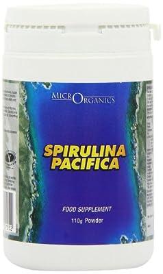 Microrganics 110g Spirulina Pacifica Spirulina Powder