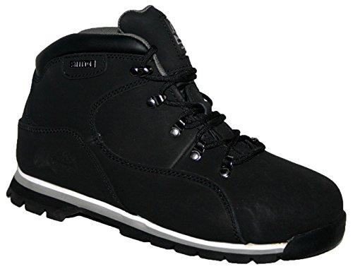 Groundwork GR86 S, Chaussures de sécurité mixte adulte noir/blanc