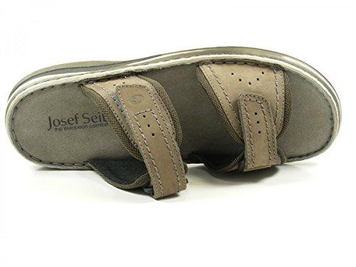Josef Seibel 10108-21-781 Max 01 Scarpe Da Uomo Muli Grigi