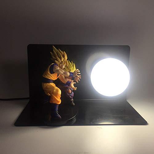 Dragon Ball Z Goku Vegeta Battle Led Night Light Bulb