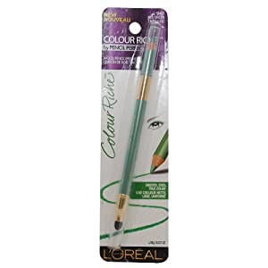 L'oreal Colour Riche Wood Pencil Eyeliner #940 Sea Green