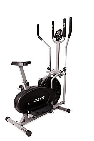 Esprit X-MOVE 2-IN-1 Elliptical Cross Trainer & Exercise Bike with Computer for Time, Speed, Distance, Calories & Pulse Heart Rate Sensors