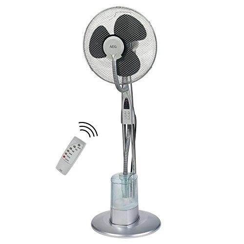 Geschlossene Kühlung (AEG VL 5569 LB 2in1 Standventilator inkl. Luftbefeuchtung, 40 cm Durchmesser)