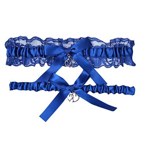 Splrit-MAN Braut Strumpfband Spitze Blume Braut fuß dekor floral Ornamente für Hochzeit Brautjungfer Western Vintage Strass Kristall Strumpfbänder Western Bootcut Pant