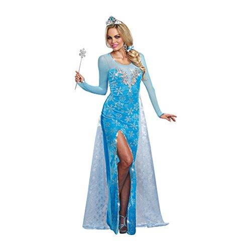 Dreamgirl 9897Ice Queen Kostüm (Queen Kostüme Ice)