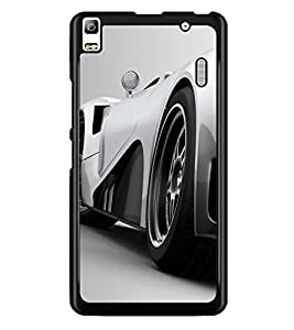 PRINTSWAG CAR Designer Back Cover Case for LENNOVO A7000