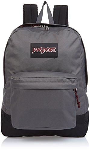 Black Label Superbreak Jansport Rucksack-Forge Grau - Eine Größe