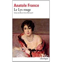 Le Lys rouge by Anatole France (1992-11-25)