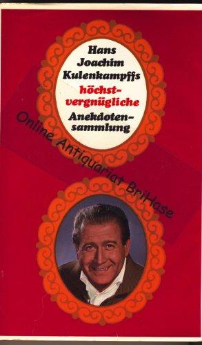 Hans Joachim Kulenkampffs höchstvergnügliche Anekdotensammlung