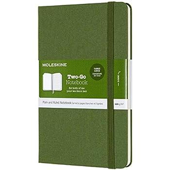 Taccuino Copertina Morbida e Chiusura ad Elastico Colore Verde Mirto Notebook Classic Pagina a Quadretti Dimensione Extra Large 19 x 25 cm 192 Pagine Moleskine