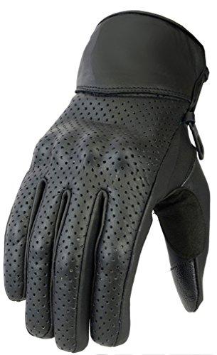 newfacelook-hommes-perfore-cuir-moto-gants-ete-protection-motorbike-gloves-l