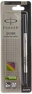 Parker Quink Roller Ball Pen Refill, Black