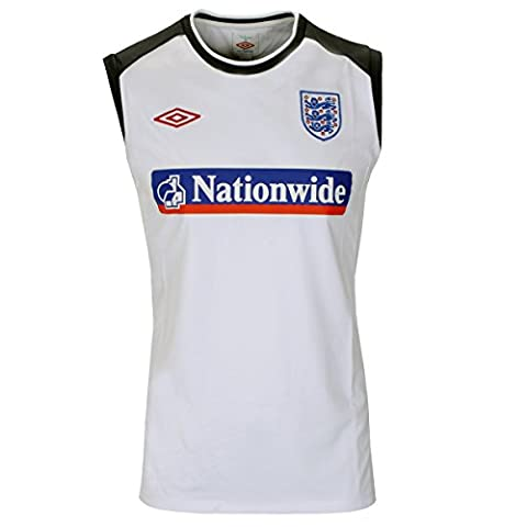England Sleeveless Training Jersey Shirt -