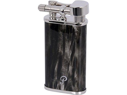 Momparler1870 Encendedor Peterson pipa lacado negro