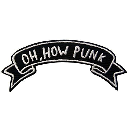 Parche termoadhesivo para la ropa, diseño de Oh How Punk / Oh,...