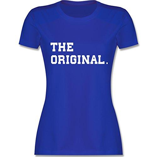 Shirtracer Partner-Look Familie Mama - The Original The Remix Eltern - Damen T-Shirt Rundhals Royalblau