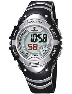 Electronic watch outdoor sport running kinder wasserdicht-B