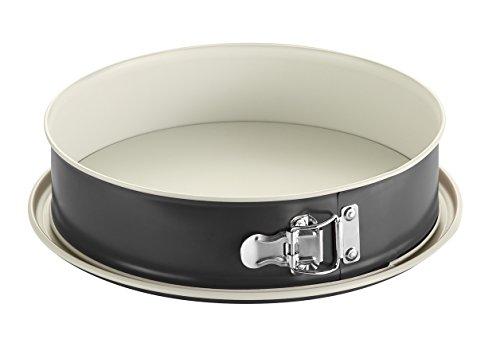 Fisko Keramik Springform 28 cm schwarz/creme #761028 - Markenqualität Made in Germany