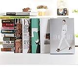 Faux Livre Ornements de Mode Simulation Showroom Livre Décoration Creative Book Magasin De Vêtements Magazine Décoration Shell Livre Modèle Livre décoratif...