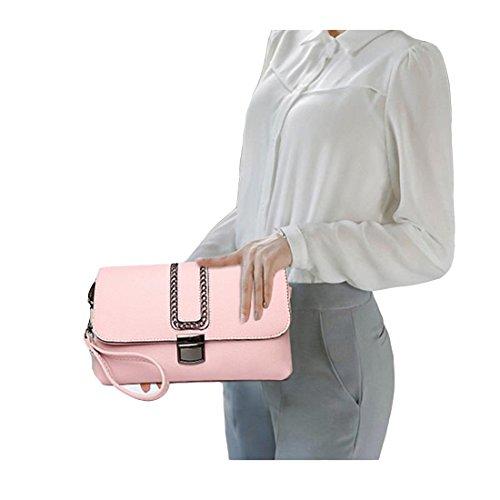 Lisianthus002, Borsa a tracolla donna Candy-pink
