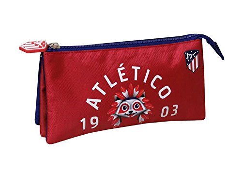 "ATLETICO MADRID PORTATODO TRIPLE ""INDI"""