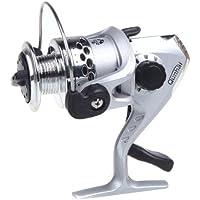 akimgo (TM) calidad Spinning Pesca Carrete 3BB Ball Rodamientos Izquierda/Derecha Intercambiable mango plegable SE2005.2: 1Pesca Tackle equipo, plata