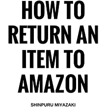 How to Return an Item to Amazon