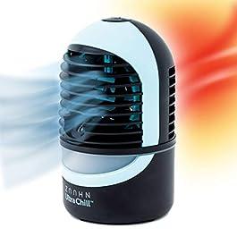 Zaahn Ultra Chill Deluxe, Umidificatore e Condizionatore Portatile da Scrivania a Evaporazione con Ventola e Senza…
