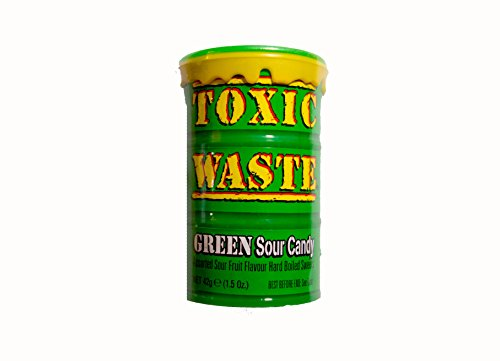 Toxic Waste Green Sour Candy Extra saure Bonbons 42 g
