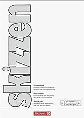 Brunnen 1047455 Zeichen- Skizzenblock  A4, 190