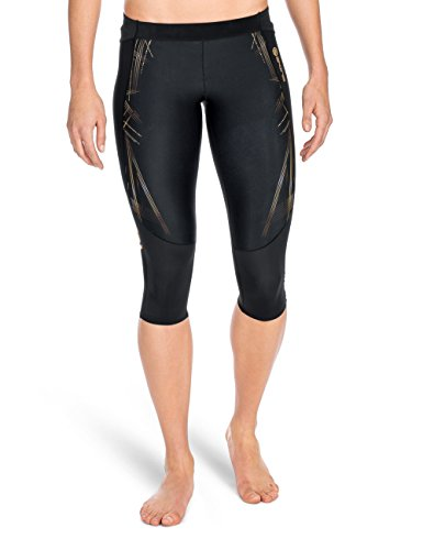 Skins Damen A400 3/4 Tights, Gold, S, ZB99330209156FS (Skins Tight 3/4)