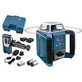 Bosch Professional GRL 400 H - Nivel láser giratorio (alcance 400 m, láser rojo, en maletín)