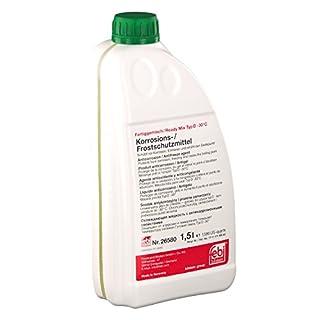 febi bilstein 26580 Frostschutzmittel für Kühler (grün) 1,5 Liter (Fertiggemisch -30°C)