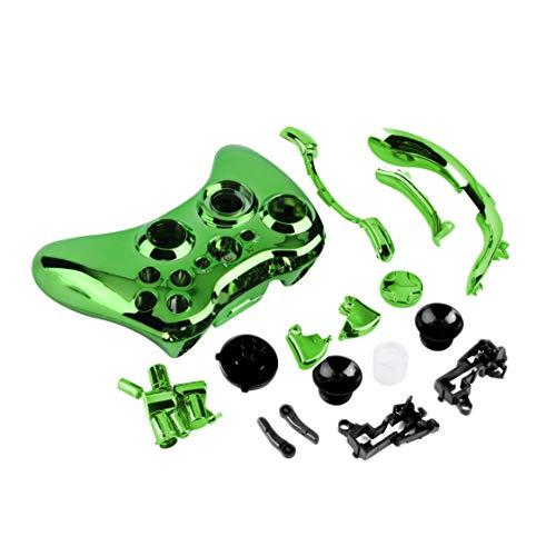 Preisvergleich Produktbild Set Wireless Bluetooth Controller Shell Fall Stoßstange Thumbsticks Tasten Spiel für Xbox360 Digital Polish 8 Farben