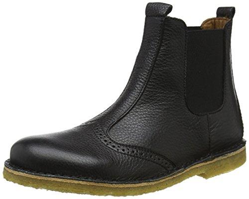 Bisgaard Unisex-Kinder 50203218 Chelsea Boots, Schwarz (208 Black), 34 EU