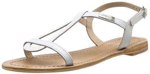 Les tropéziennes, hamess, sandali da donna, bianco (blanc), 41 eu