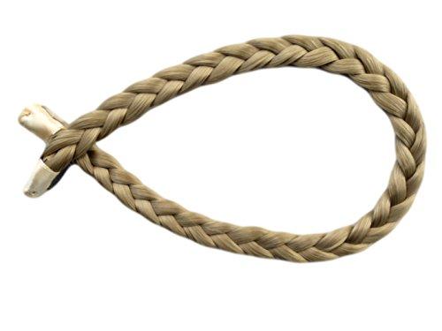 Alle Farben sind erhältlich, Dünne Geflochtene Haarband Nordische Blonde Haarverlängerung Haarteil