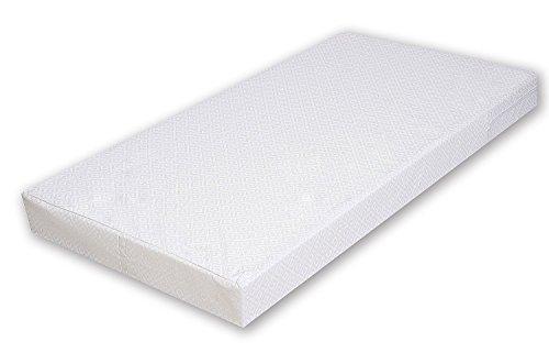*4myBaby BESONDERE Schaumstoffmatratze mit TÜV Zertifiziert wie Kaltschaummatratze Kinderbettmatratze 10 Größen mit Reißverschluss (70×140-10cm)*